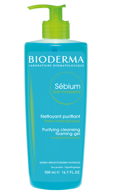 Sébium Oily skin purifying foaming gel - Face, body cleanser