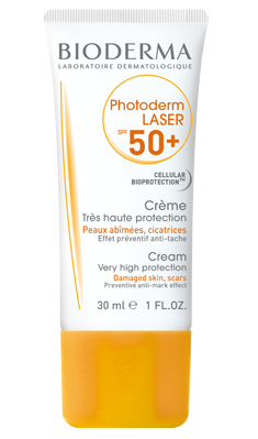 Hyperpigmented skin sun cream - Photoprotection factor 50+
