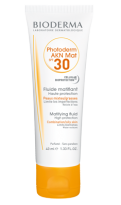 Combination, oily, acne skin sun spray - Factor 30 - Bioderma photoprotection